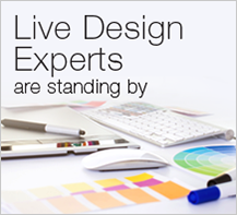 Live design experts are standing by