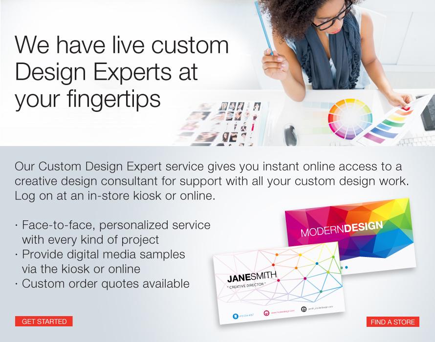 Staples print marketing services custom design experts for Custom design services
