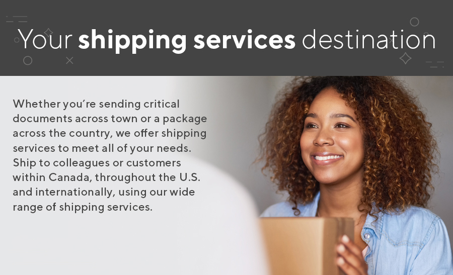 Shipping Solutions Banner
